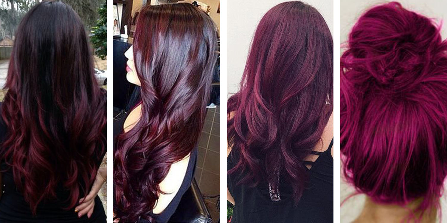 The 21 most popular red hair color shades red black hair color pmusecretfo Choice Image