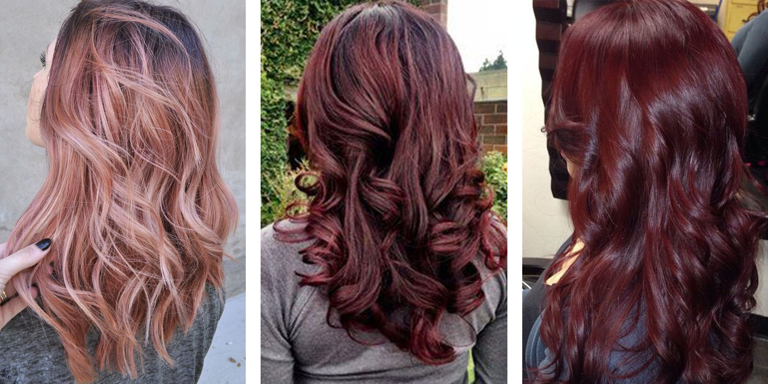 The 21 most popular red hair color shades rose gold hair color pmusecretfo Image collections
