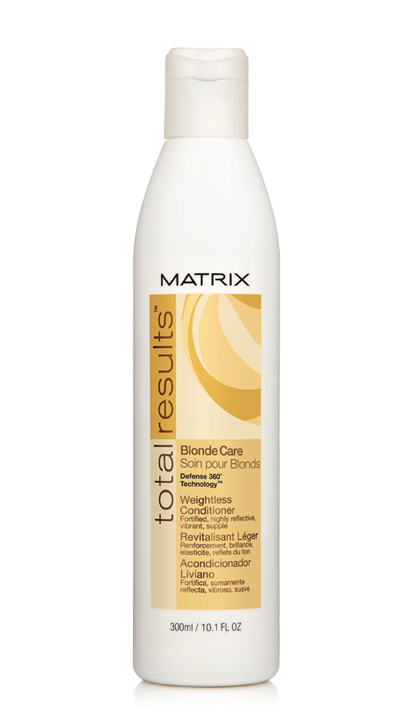 Total Results Haircare Blonde Care Weightless Conditioner