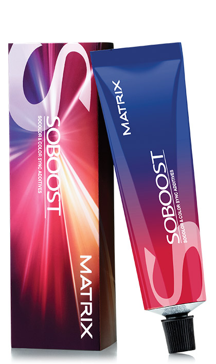 Matrix Haircolor SoBoost ColorSync additives