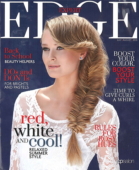 Matrix Haircare As Seen In Edge Magazine