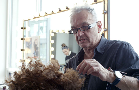 Matrix Haircare Artistic Director Nicholas French In Action 7