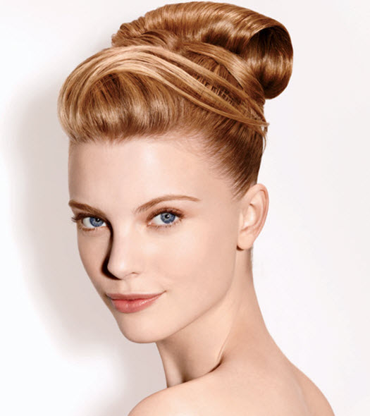 Matrix Haircare Blonde Bun