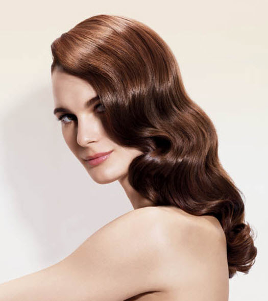 Matrix Hair Color Retro Waves