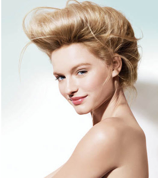 Matrix Hair Styling Romantic Updo