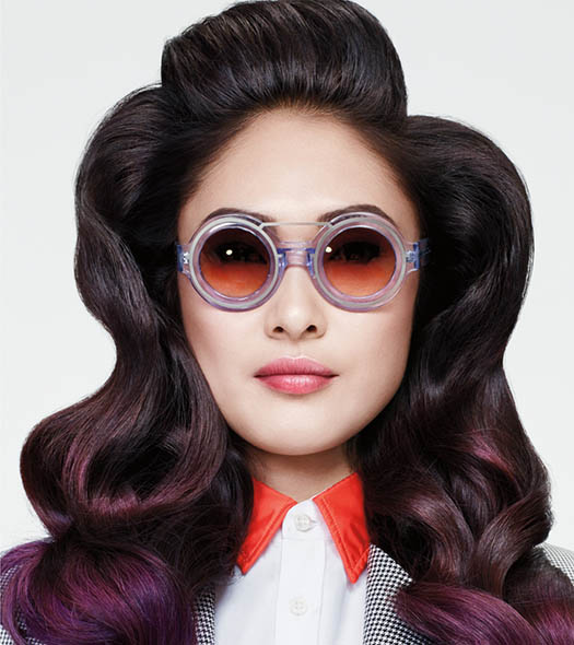 Matrix Hair Trends 21st Century Pop Gradient Groove
