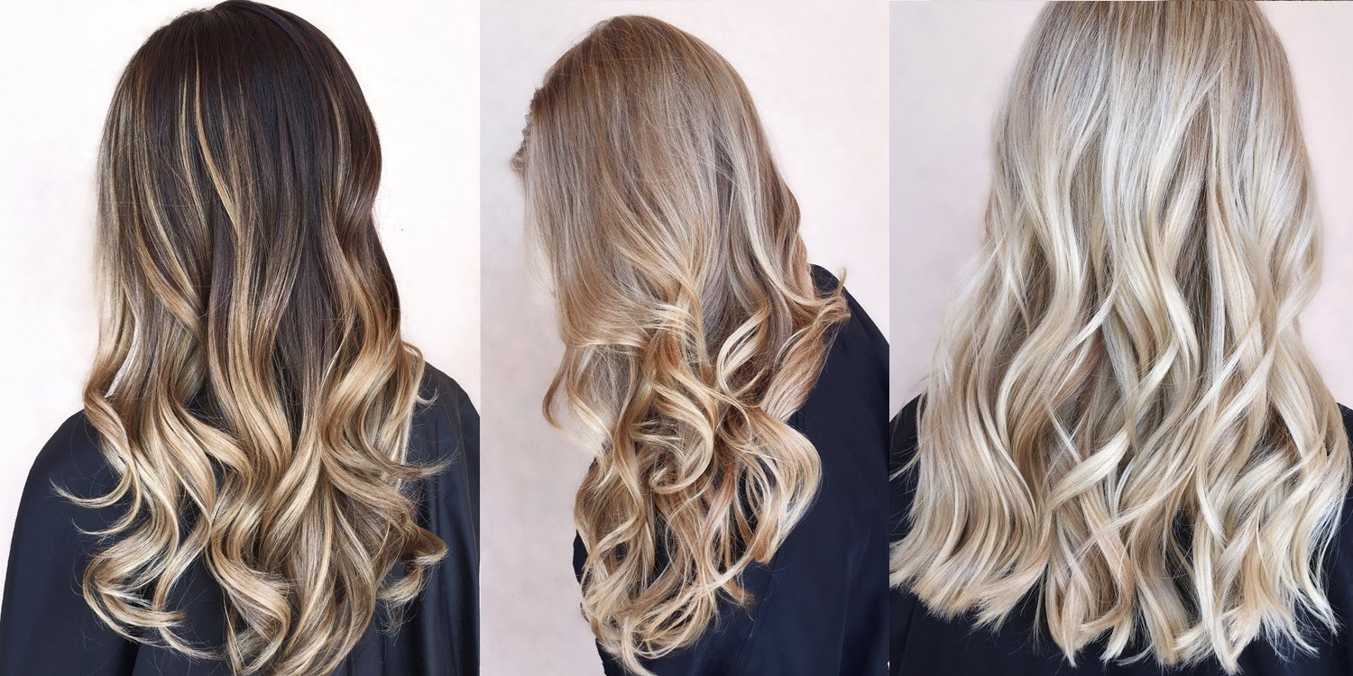 Blonde Balayage Hairstyles from Constance Robbins