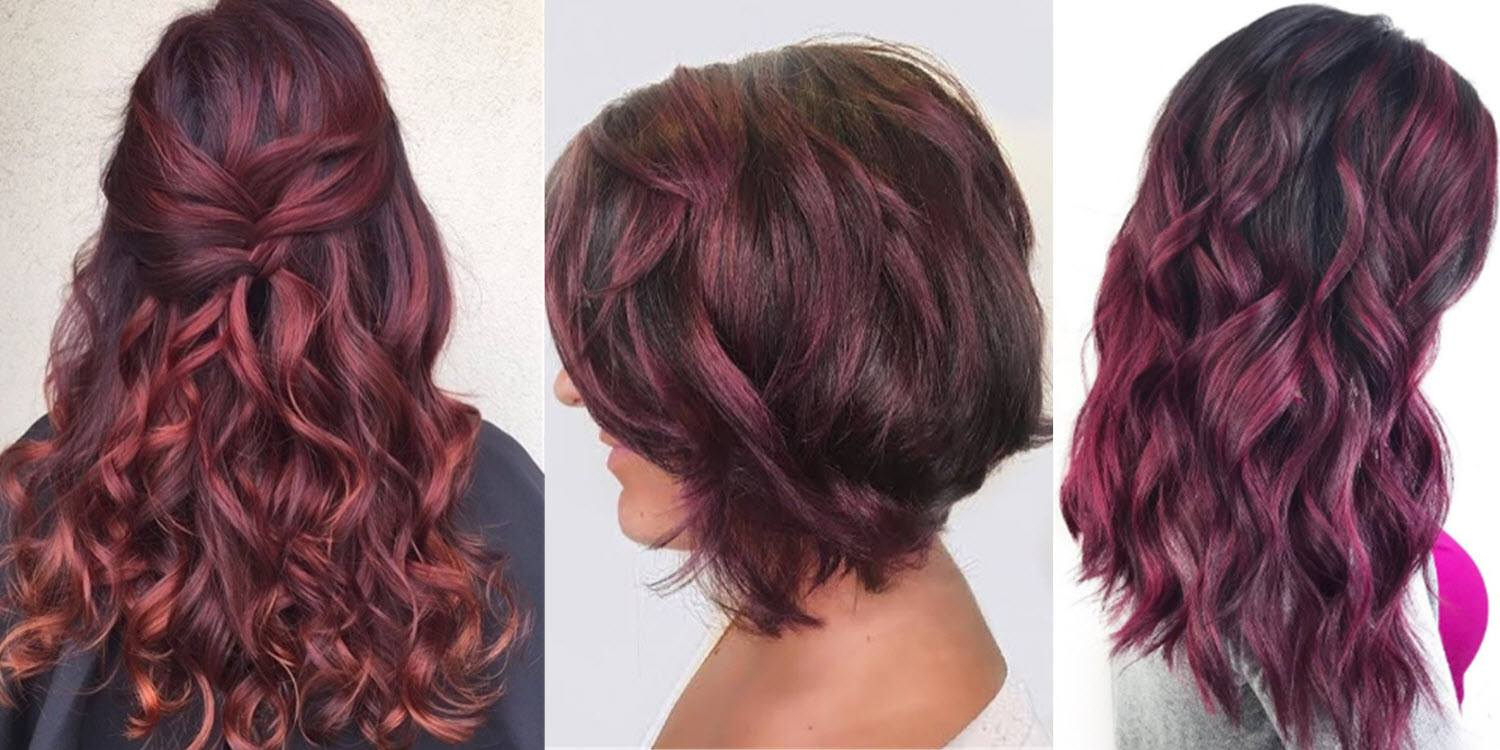 Is burgundy hair color right for you matrix pictures are essential to achieving the perfect burgundy shade urmus Gallery