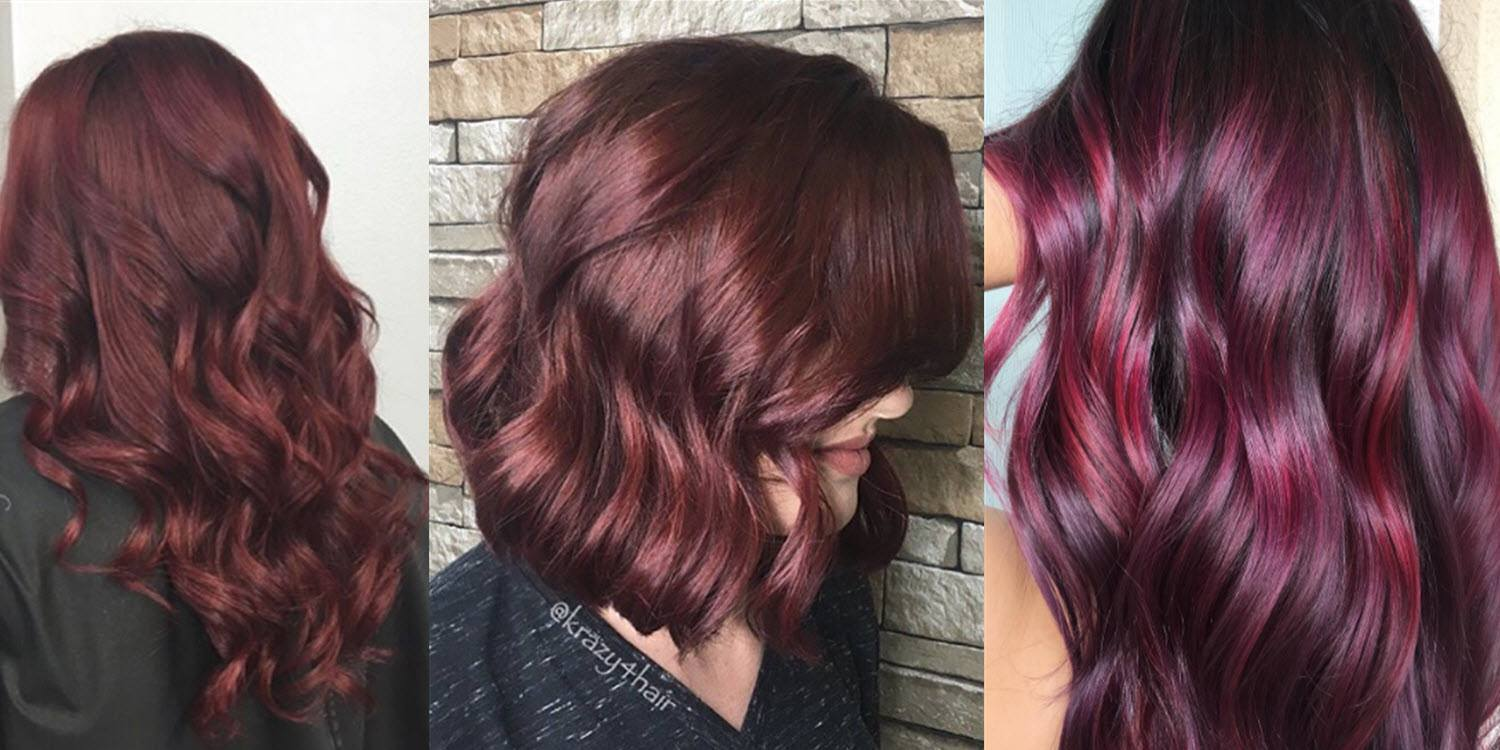 Is burgundy hair color right for you matrix a little burgundy or a lot urmus Image collections