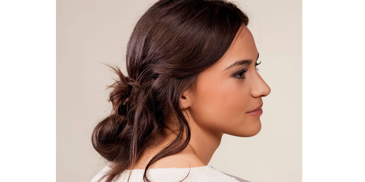 8 easy messy bun tutorials hairstyles whats knot to love messy bun for long hair urmus Gallery