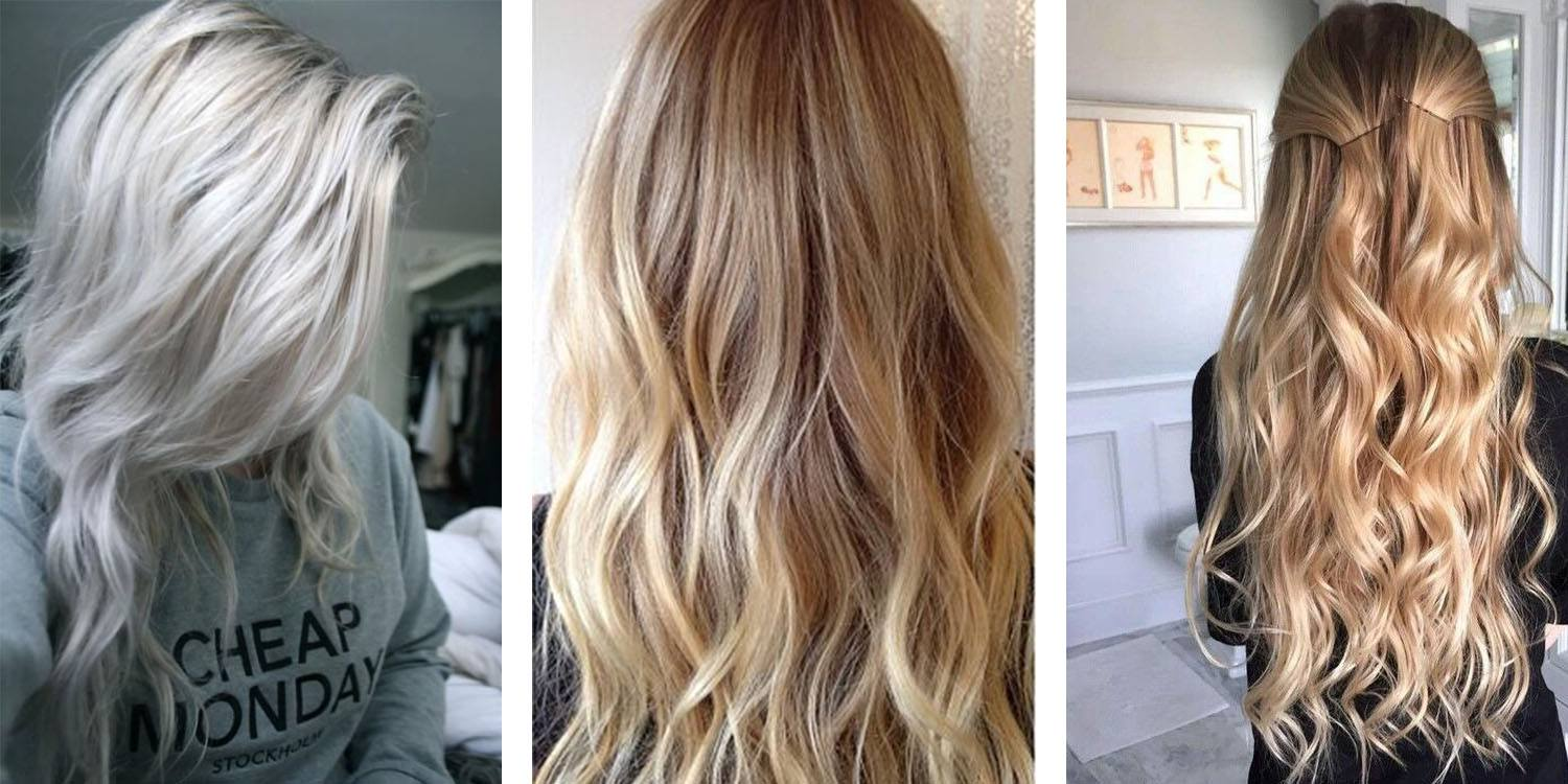 Blonde Colors On Natural Hair