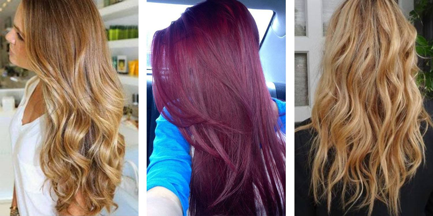 Brownish Blonde, Cherry Blonde and Caramel Blonde
