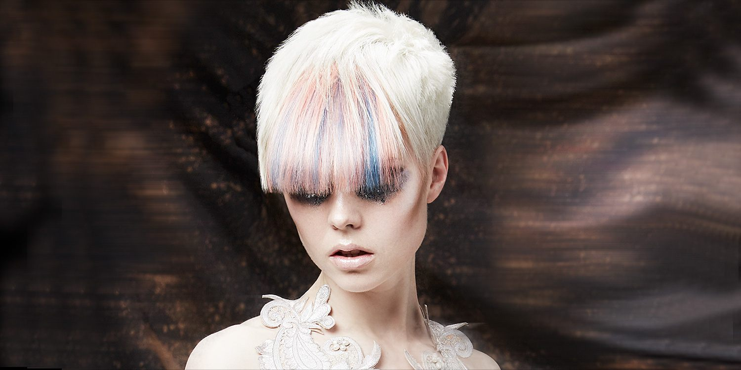 Bright Pastel Hair Color Trend Matrix