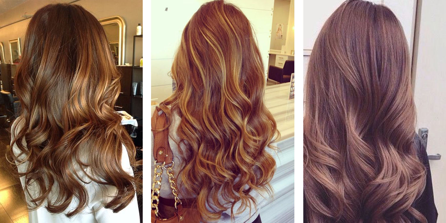 shades of brunette chart: The 23 best brunette hair color shades