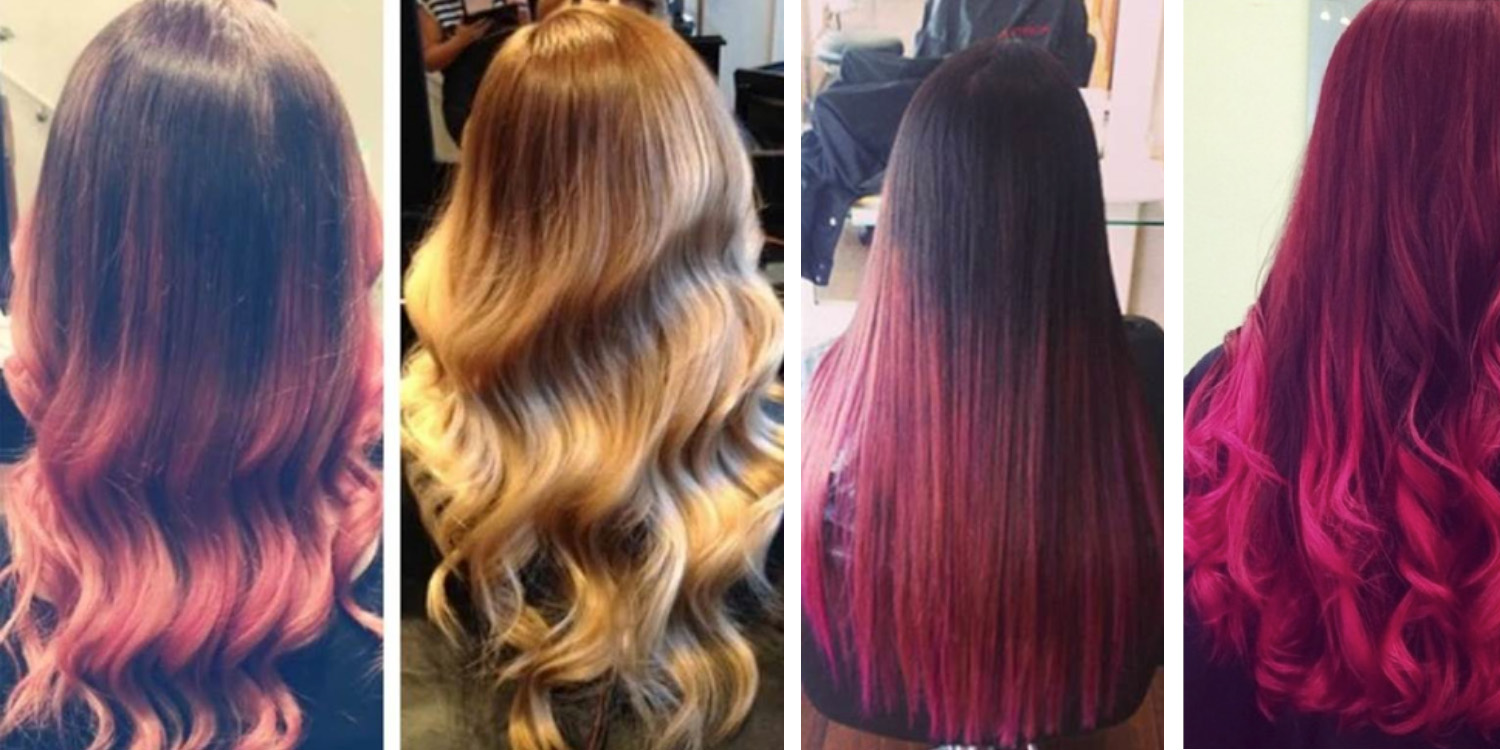 matrix color treated hair styling designing tips
