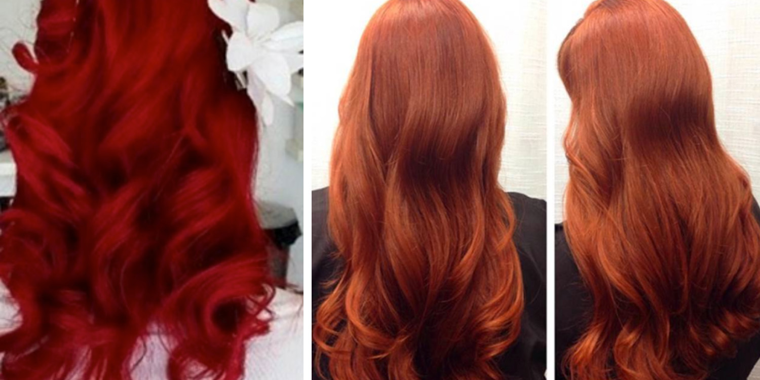 Red Hair Color Ideas Styles Trending Shades Matrix