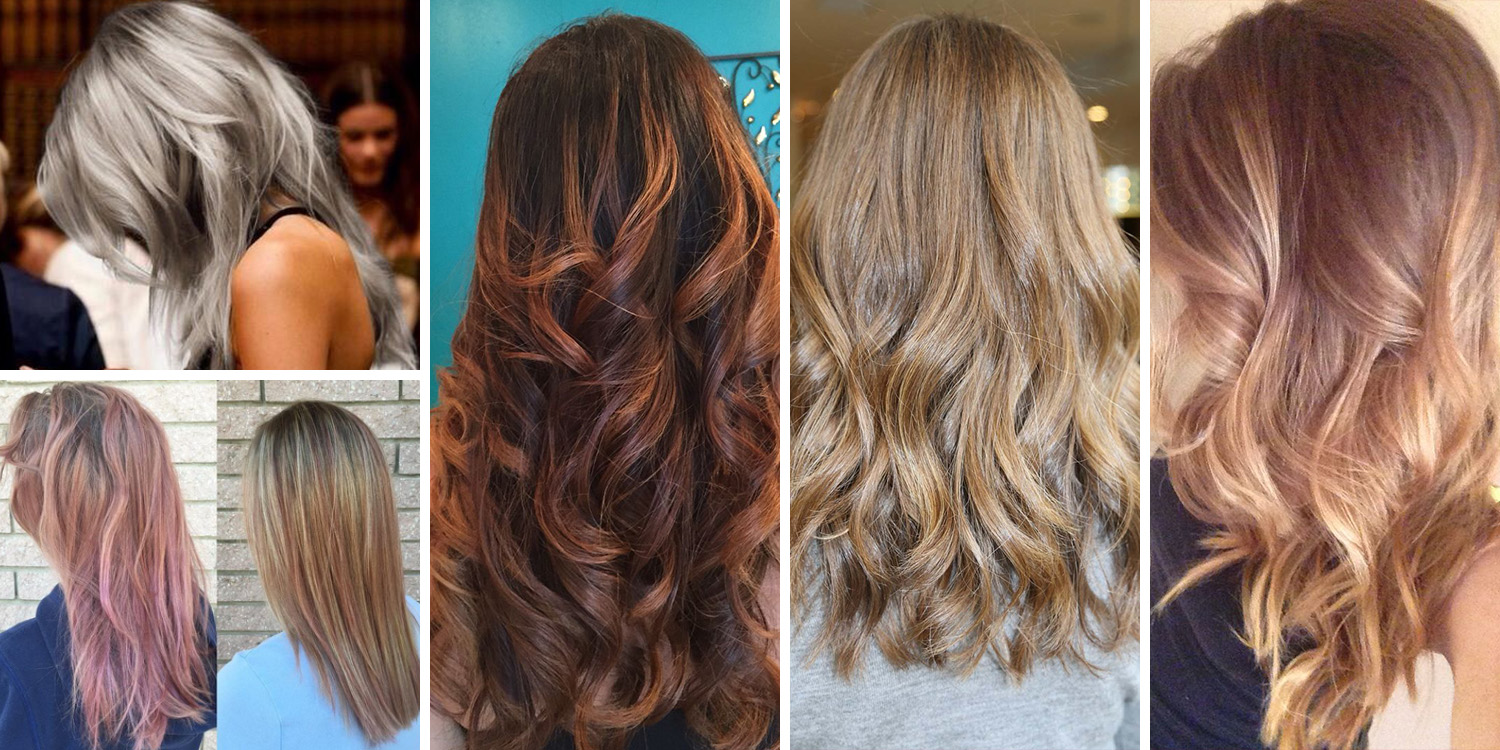 5 Hair Color Trends For Fall/Winte