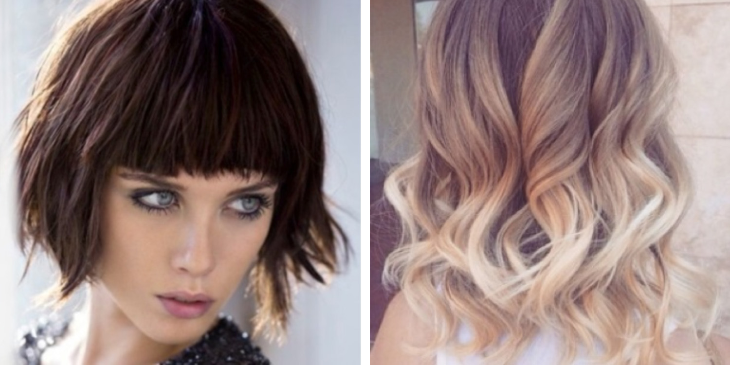 Color Hair Style: Hair Style And Hair Color Trends For Spring 2015