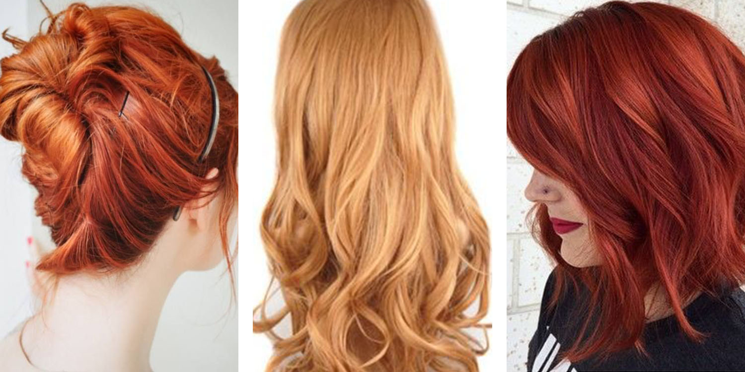 Most Por Red Hair Color Shades Matrix