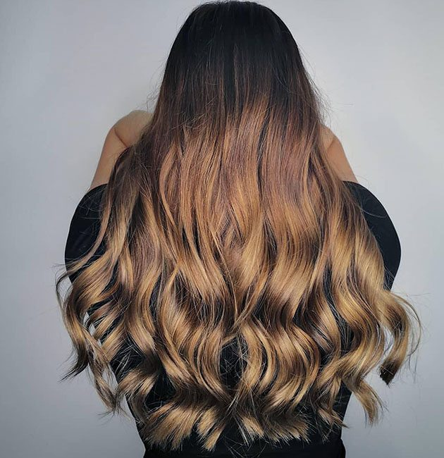 Brown Ombre Hair Colors Style Ideas Matrix