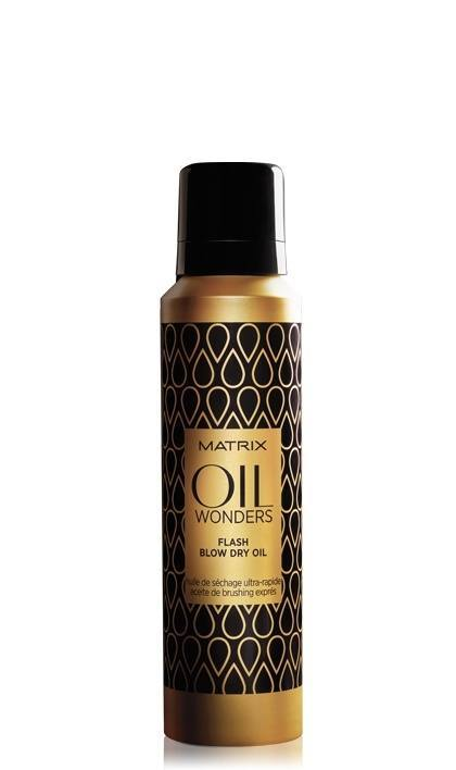 Oil Wonders Styling Flash Blow Dry Oil