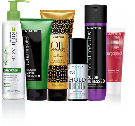 Matrix Haircare Newsletter Family Image