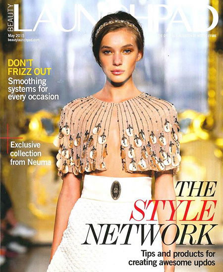 Matrix Haircare As Seen In LaunchPad Style Link May 2015 Cover