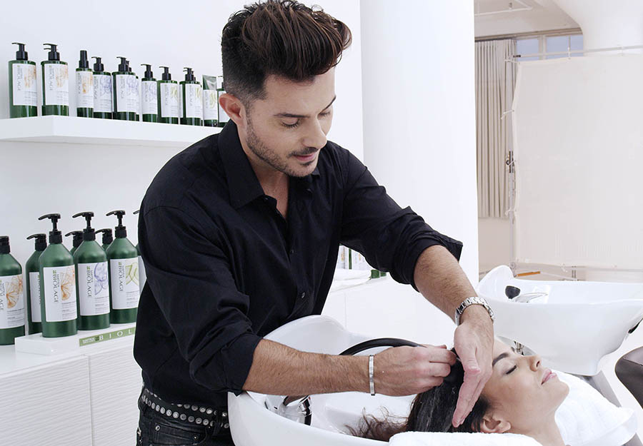 Matrix Haircare Artistic Director George Papanikolas