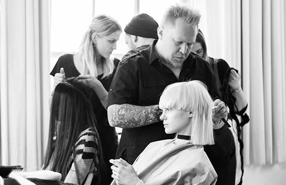 Matrix Haircare Artistic Director Chrystofer Benson In Action 5