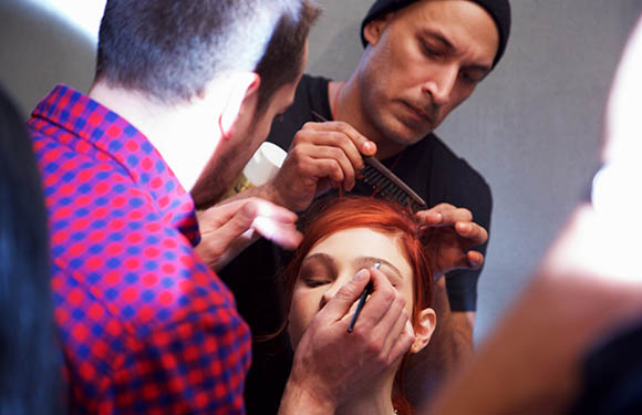 Matrix Haircare Artistic Director Dan Roldan In Action 3