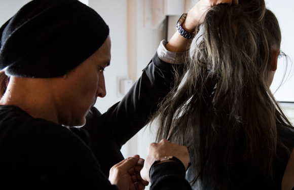 Matrix Haircare Artistic Director Dan Roldan In Action 8