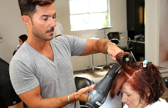 Matrix Haircare Artistic Director George Papanikolas In Action 4