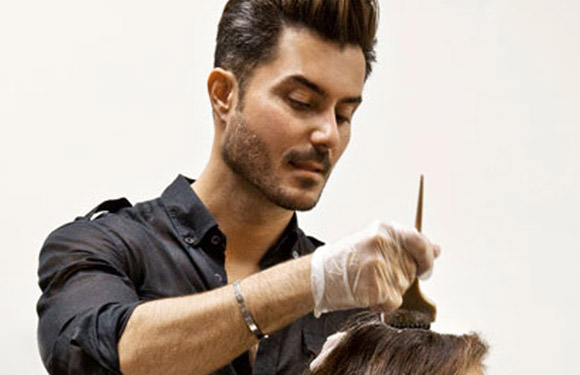 Matrix Haircare Artistic Director George Papanikolas In Action 9