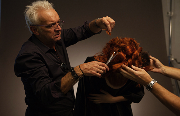 Matrix Haircare Artistic Director Nicholas French In Action 1