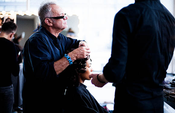 Matrix Haircare Artistic Director Nicholas French In Action 2