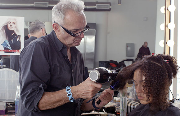 Matrix Haircare Artistic Director Nicholas French In Action 6