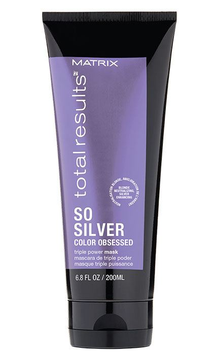 Total Results So Silver deep conditioning toning hair mask for blonde hair and silver hair