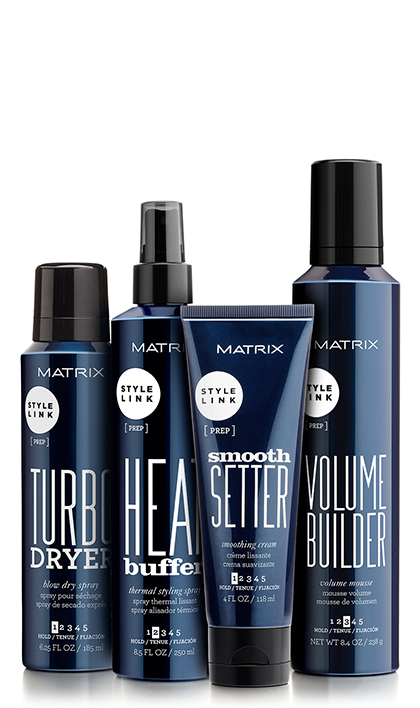 Style Hair Products Glamorous Stylelink Hair Priming Texturizing And Hair Styling Products  Matrix