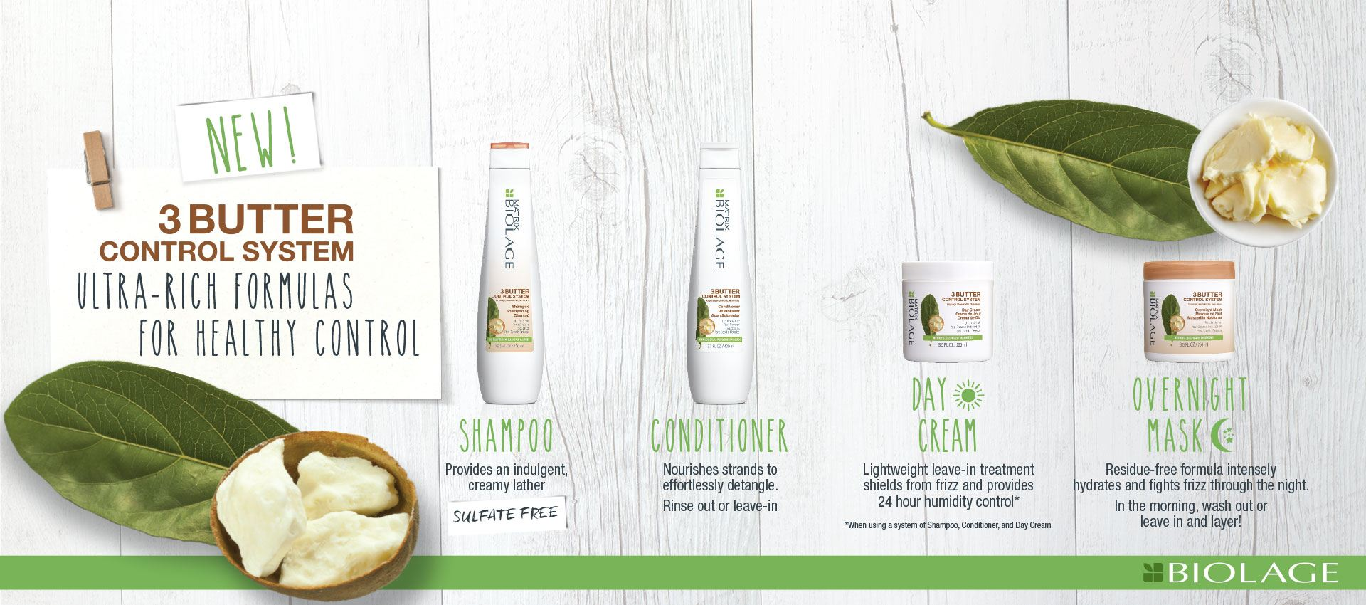 Biolage 3butter control system