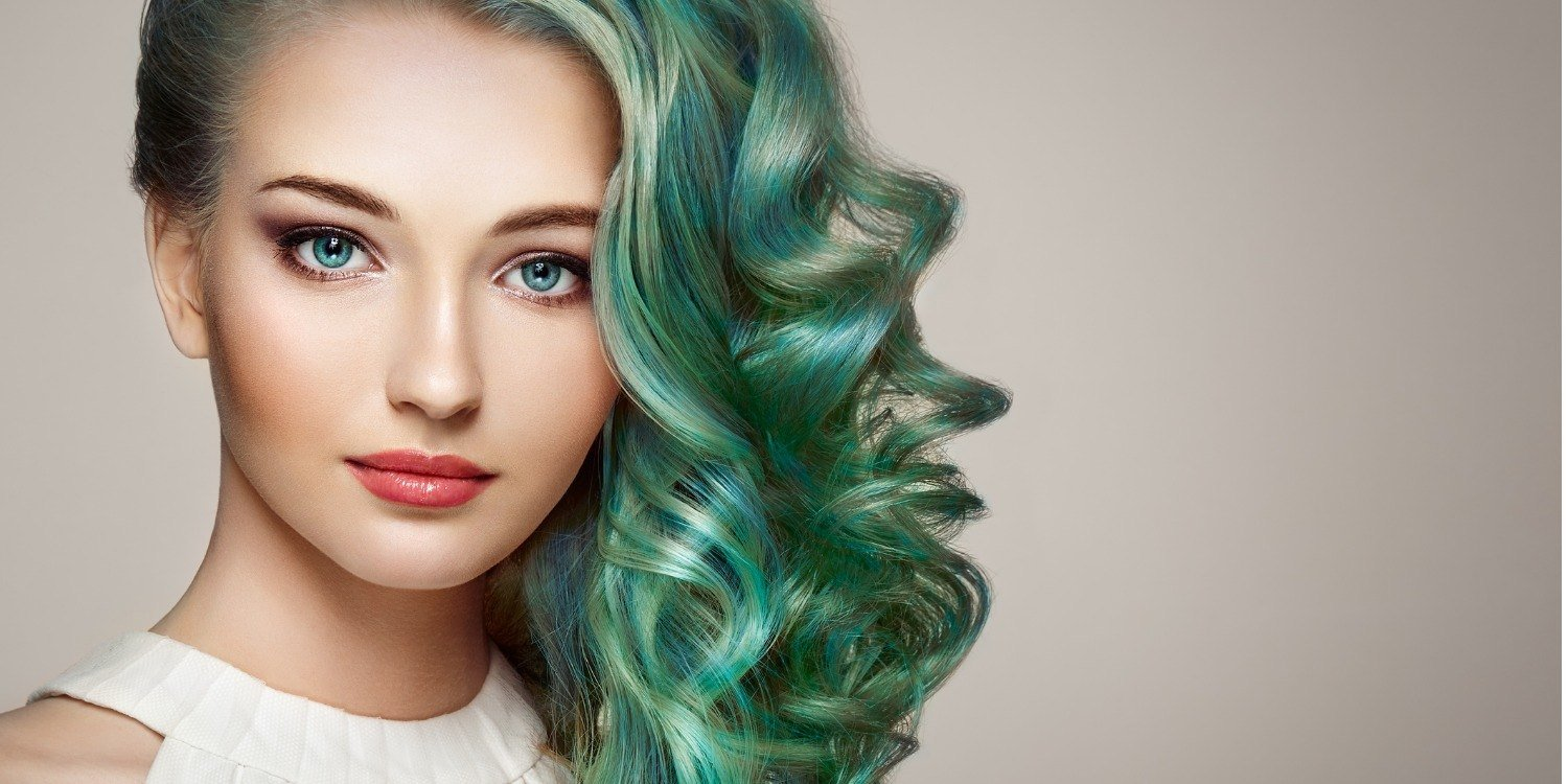 Makeup Tips If You Wear Vivid Hair Color .jpg