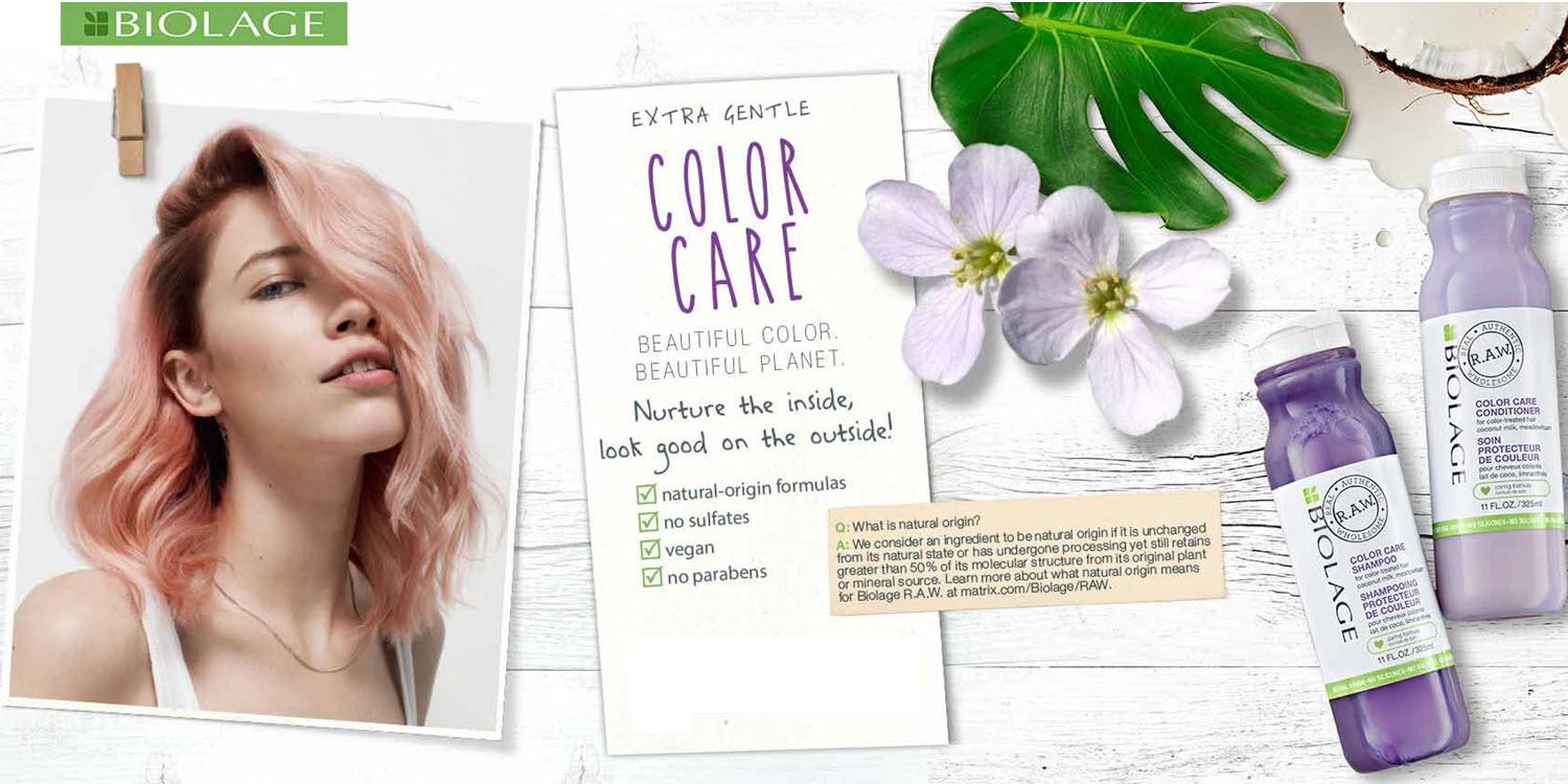 Natural Ways To Care For Color Treated Hair Matrix
