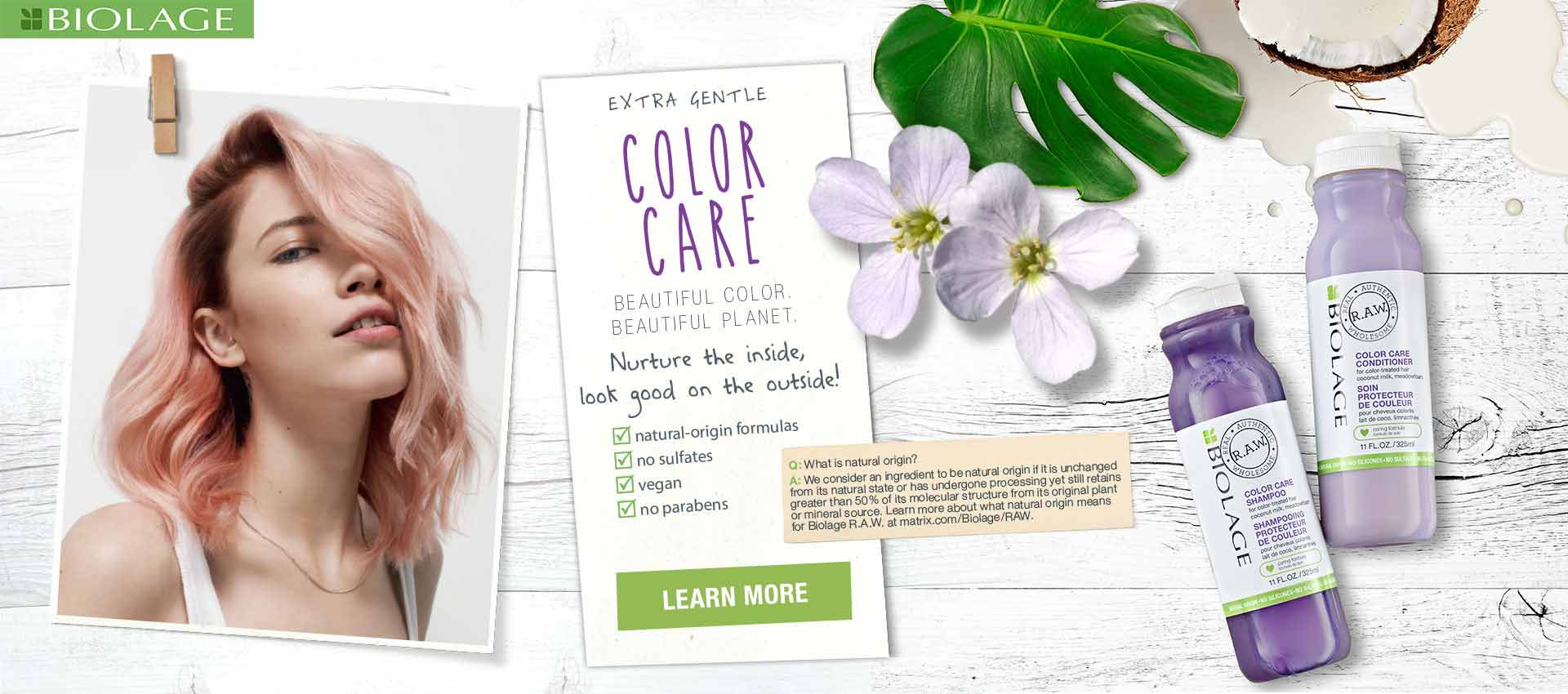 Biolage RAW Color Care