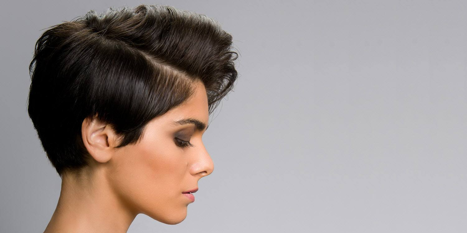 Lifted Pixie Cut Hairstyle