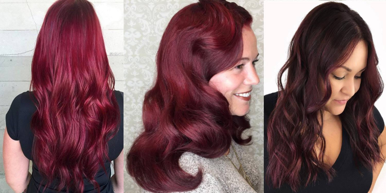 Is burgundy hair color right for you matrix the right shade of burgundy for your skin tone nvjuhfo Gallery