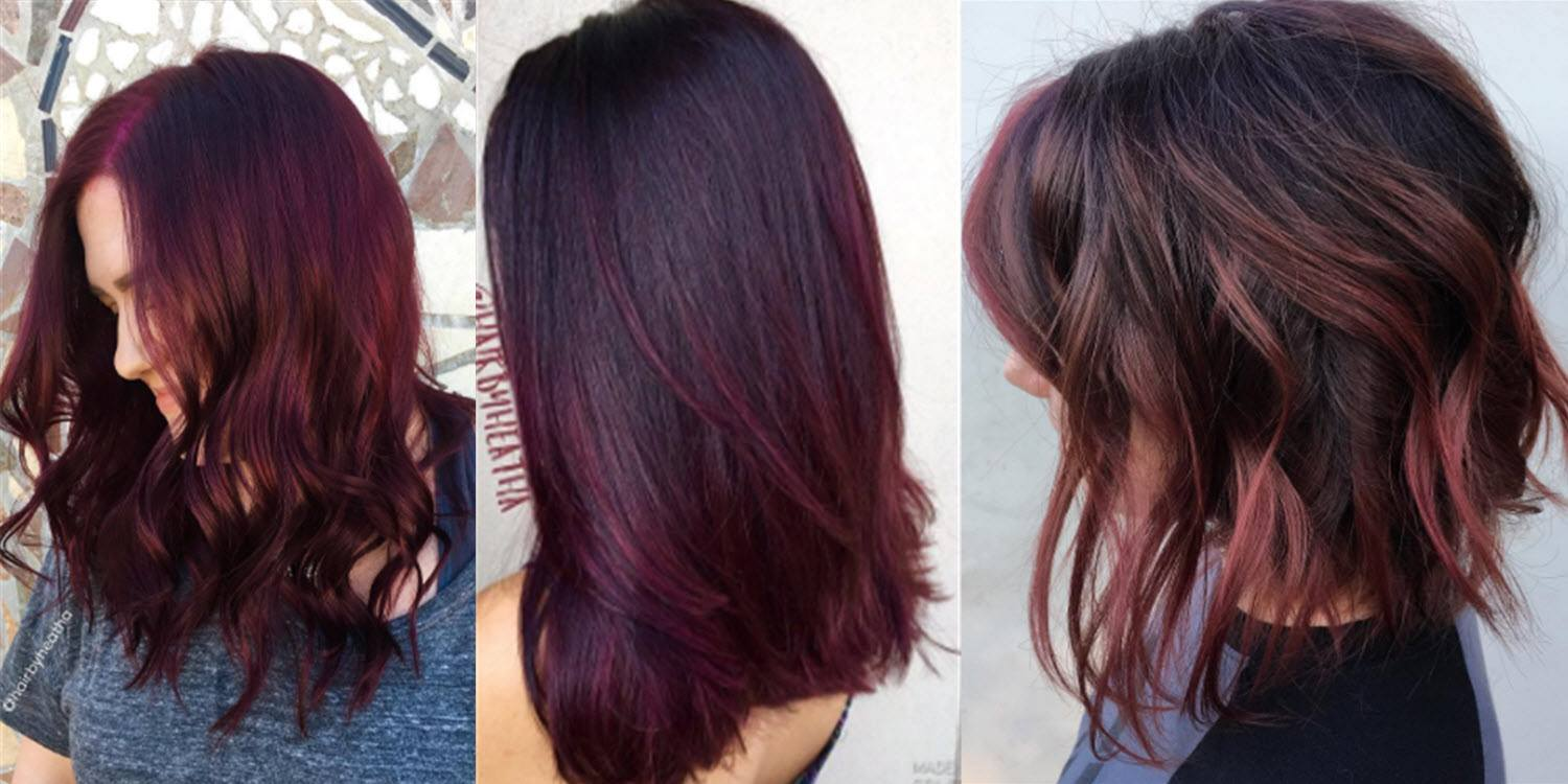 Is burgundy hair color right for you matrix for Tone on tone hair color