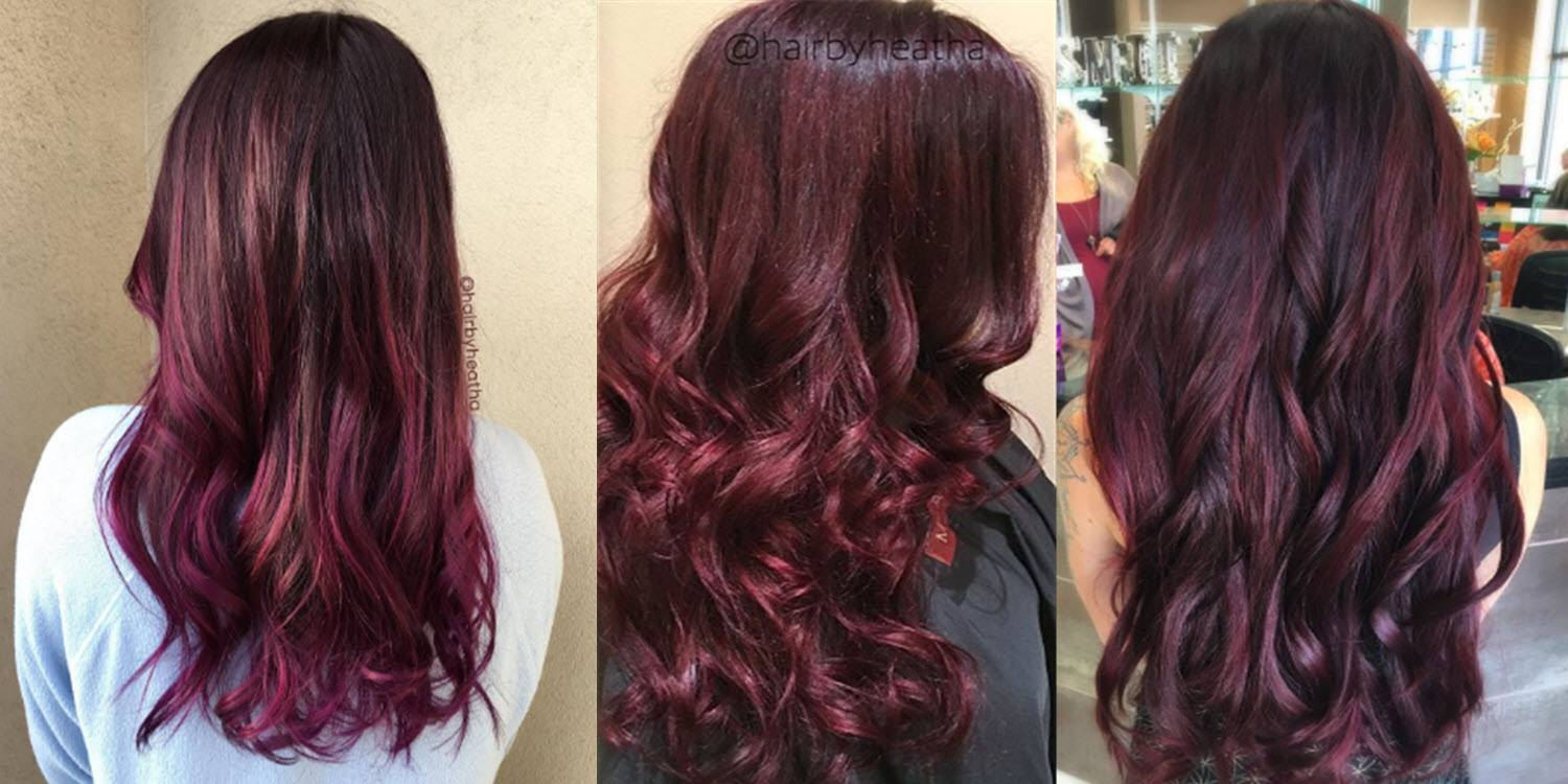 Burgundy Hair Color That Doesn T Fade