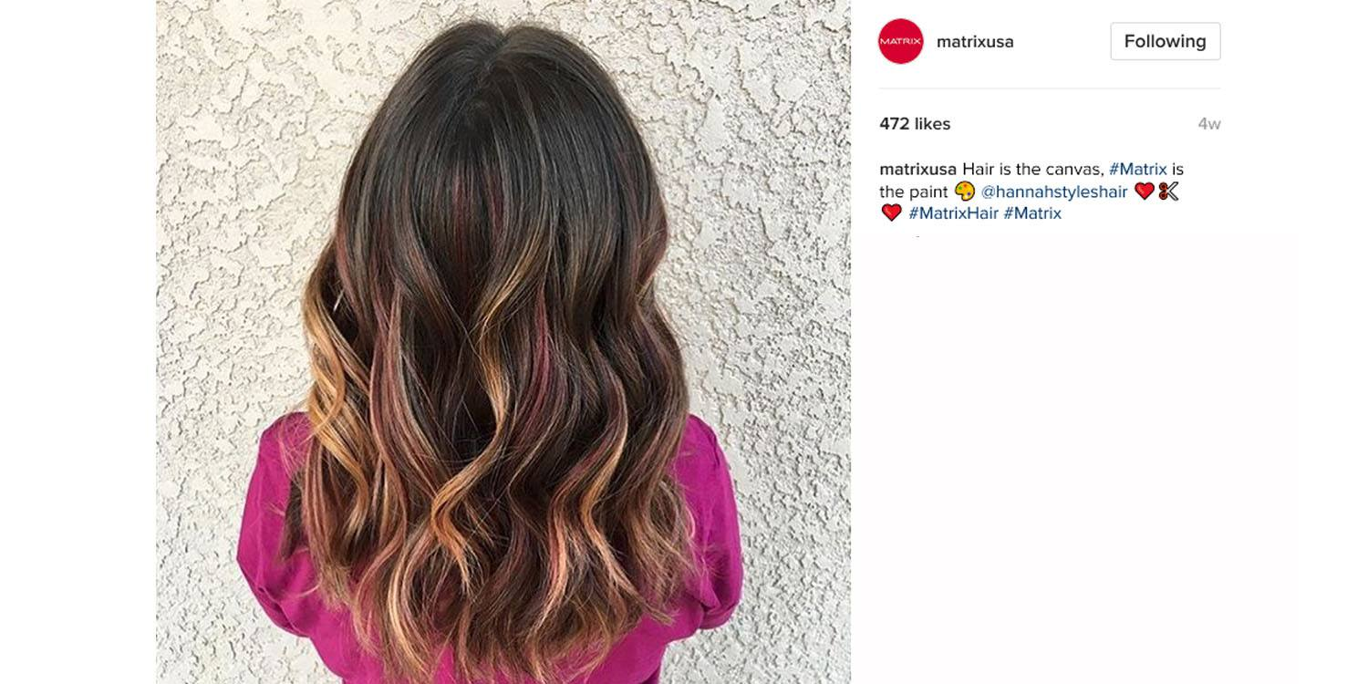 The top brunette hair color trends matrix mocha and berry ombr hair color nvjuhfo Images