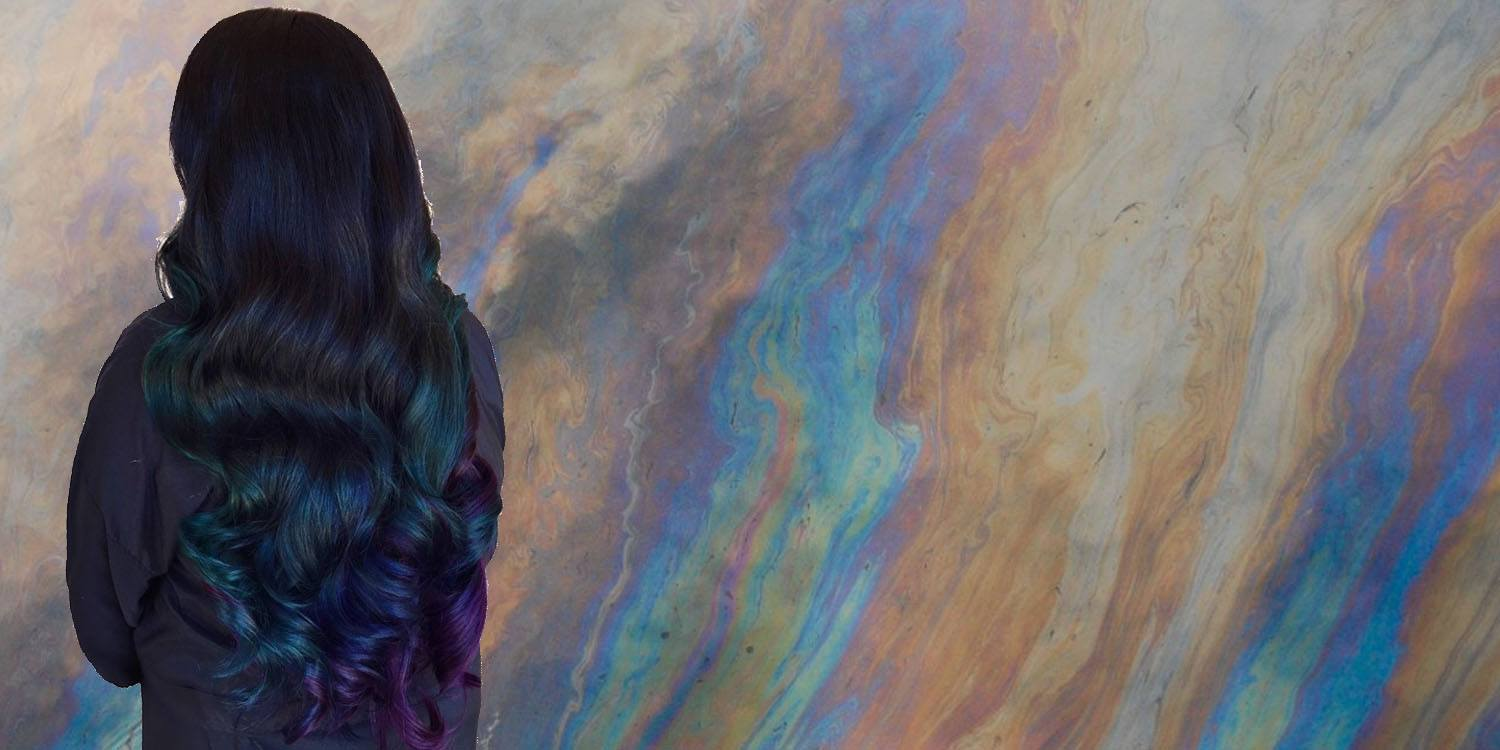 reasons oil slick hair color is for you