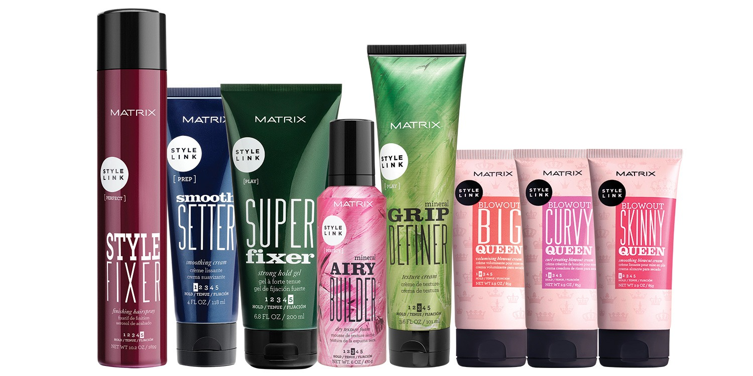 style hair with gel the best hair styling products for your hair type matrix 5216