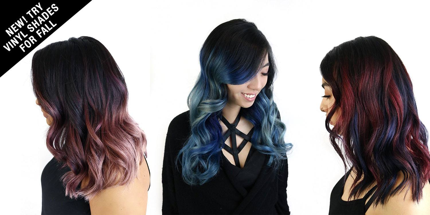 fall hair color trend vibrant bold fashion hair colors
